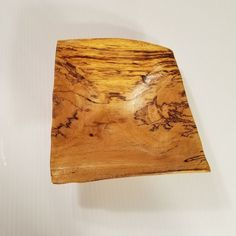 Hand-Turned-Wooden-Bowl-Tamarind-Wood-Burl-Hawaii-Signed-Square-7-034-asymmetrical