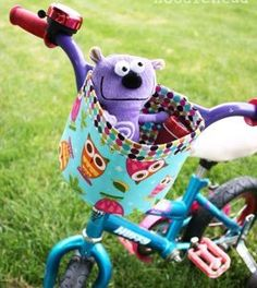 Bicycle Bucket | AllFreeSewing.com