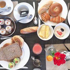 Perfect #breakfast @martinezhotel #morning #sundaymorning #lazysunday #food foodporn