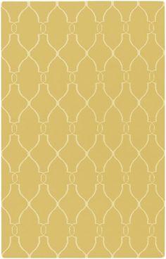 Surya Jill Rosenwald Fallon FAL100 Yellow Rug available at Rugs USA. #home decor