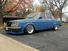 volvo 240- My first car!!! @Sally McBride