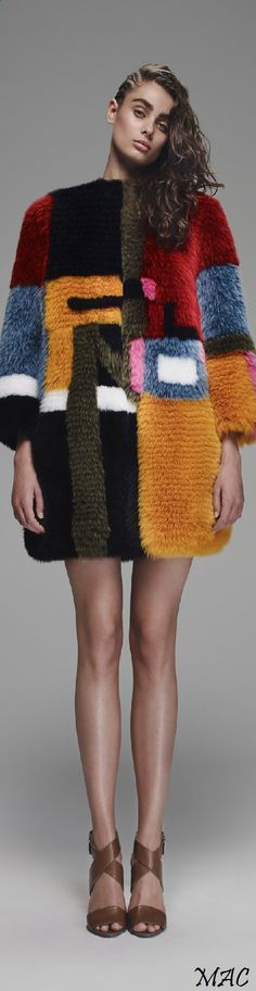 """Resort 2016 Fendi """"And the LORD said to Moses, """"Go to the people and consecrate them today and tomorrow. Have them wash their clothes."""" Exodus 19:10"""
