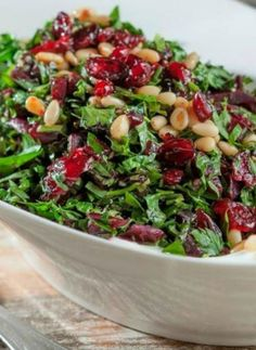 Chopped Parsley Beet Salad