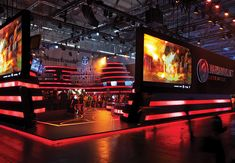 When Wargaming Europe SAS wanted to promote its combat-related video games on the battleground of Gamescom 2015, the company and its exhibit designers at The Trade Group turned to WWII military histories and period movies for inspiration.