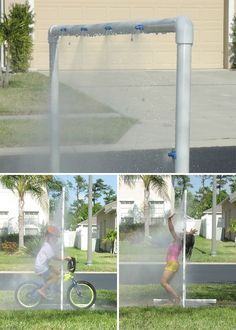 Carl Morris from Orlando combined misting water jets with ever-versatile PVC pipe to create 100% brushless Kidwash 2 – Keeps kids clean and refreshed! – KidWash 2 : PVC Sprinkler Water Toy Check out the instructable for the lowdown on how to build your own – KidWash 2 on Instructables …