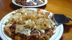 Japanese Style Pancakes (Okonomiyaki) #japanese #recipes