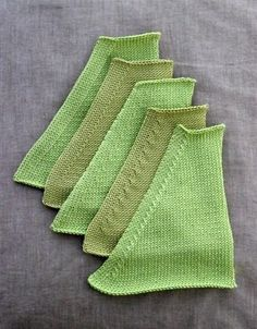 If you knit, these decreases area great tool in your basket.  Think of your favorite raglan sweater with one of these.