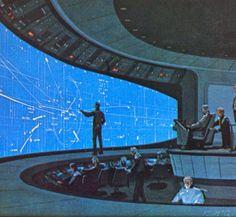 (Original, 1978) Battlestar Galactica Concept Art by Ralph McQuarrie