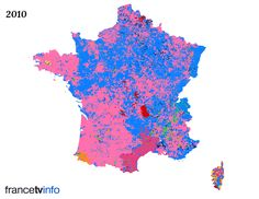 French Regional elections in 2010, compared to the ones in 2015