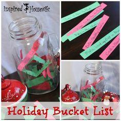 Twelve Days of Christmas - Holiday Bucket List Ideas #merryblogmas