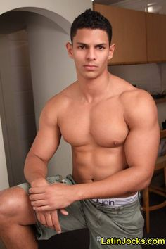 Latino hunk gay