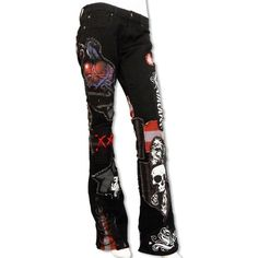 Hollywood Sideshow Women's Stage Pants ❤ liked on Polyvore featuring pants, bottoms, jeans, pants and shorts and ashba swag