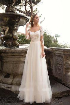 Svatební šaty Mireia – Salon Sofia
