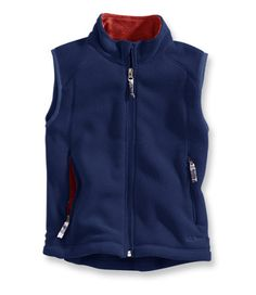 Kids' Trail Model Fleece Vest: Vests - boys and girls Cool Girl, Boy Or Girl, Baby Boy, Girl Outfits, Casual Outfits, Outdoor Apparel, Fleece Vest, Ll Bean, Retail