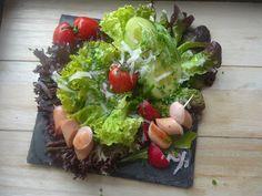 Lunch z sałatą w roli głównej. Lunch, Sprouts, Salads, Vegetables, Food, Meal, Eat Lunch, Essen, Vegetable Recipes