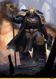 Warhammer 40000,warhammer40000, warhammer40k, warhammer 40k, ваха, сорокотысячник,фэндомы,Ultramarines,Ультрамарины,Space Marine,Adeptus Astartes,Imperium,Империум,Chaplain,Tyranids,Тираниды,Daniel Farin