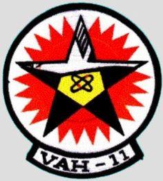 USN VAH-11 CHECKERTAILS NAS Sanford FL  1-Nov-1955