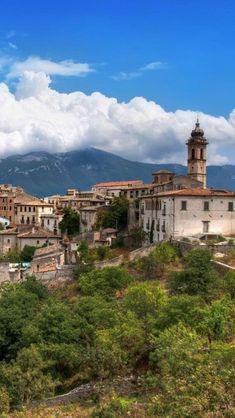 Capestrano, Abruzzo, Italy. Abruzzo is the region I studied abroad in.