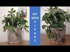 DIY♻️ Buturuga decorativă din carton ♻️ Decorative log from cardboard ♻️Home decoration from cardboard waste with oldnewspapers and polystyren reuse. Enjoy It, Acrylic Colors, Log Homes, Easy Projects, Hello Everyone, Reuse, Things To Do, Recycling, Make It Yourself