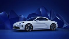 Scope out the new Alpine Vision, the concept that foreshadows Renault's rival to the Porsche Cayman and Alfa Romeo 4C coming from across the French Alps. (38 photos)