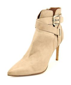 Donald J Pliner Polina-01 Women  Pointed Toe Leather Ivory Bootie