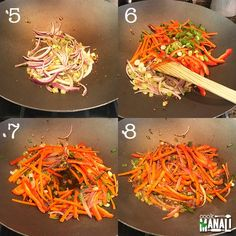 Street style Hakka Noodles are easy to make at home! These spicy noodles are great for a quick meal. Pair them with your favorite Indo-Chinese recipe to make a complete meal. Chinese Noodle Recipes, Indo Chinese Recipes, Indian Food Recipes, Ethnic Recipes, Quick Meals To Make, Quick Weeknight Dinners, Vegetarian Meal Prep, Vegetarian Recipes, Vegan Vegetarian