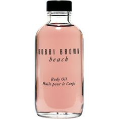 Bobbi Brown Beach Body Oil. I love the color and luxurious scent of summer!