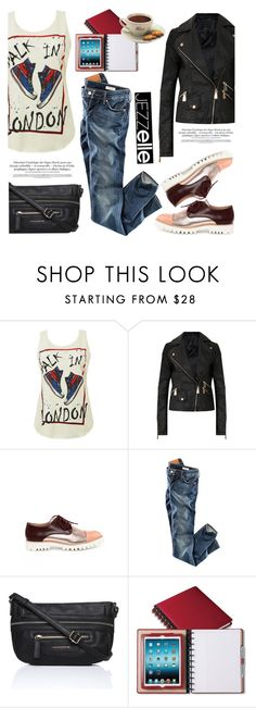 """Walk in London"" by helenevlacho ❤ liked on Polyvore featuring H&M and jezzelle"
