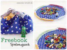 Aufräumen leicht gemacht – Freebook Spielzeugsack | Keko-Kreativ