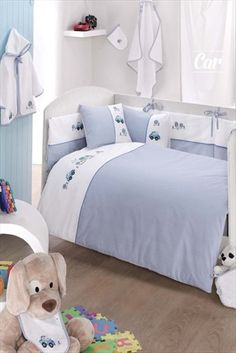 Evlen Home & Alanur Home Collection - Car 12 Parça Bebek Seti Mavi CAR-MAVI sadece 279,99TL ile Trendyol da