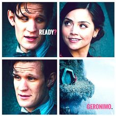 Ready? {gif} [Doctor Who, Eleventh Doctor & Clara Oswald]
