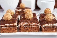 Ciasto ferrero rocher bez pieczenia - I Love Bake