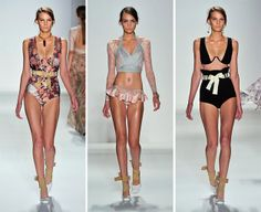Zimmermann Spring/Summer 2014 RTW – New York Fashion Week  #NYFW #Zimmermann #MBFW #fashionweek