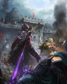 Daily World of Warcraft Art Board ^^ // Blizzard // wow // Alliance // Horde // Hearthstone // Geek // Battle for Lordaeron // World Of Warcraft Game, Warcraft Art, Imperius Diablo, Diablo Game, World Of Warcraft Wallpaper, Banshee Queen, Jaina Proudmoore, Sylvanas Windrunner, Dc Comics