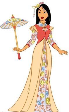 chibi mulan | Disney Leading Ladies Mulan