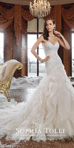 12 Best Sophia Tolli Wedding Dresses ❤ See more…