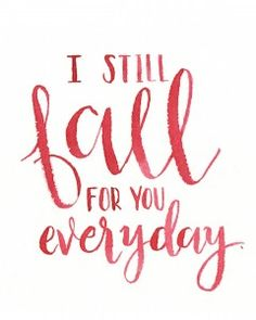 Free Fall Printables: Hand Lettered Watercolors from One Project Closer