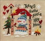 There's Snow Place Like Home. Free chart by Barbara Ana.