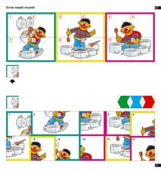 Mini arco. Busco la misma parte del dibujo Ot Therapy, Bert & Ernie, File Folder Games, Mini, Creative Thinking, Early Learning, Preschool Activities, More Fun, Worksheets