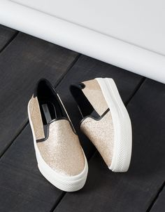 Bamba Brillo Sin Cordones Bershka - Zapatos - Bershka España