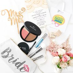 GIVEAWAY ALERT: (click through for full details) Whether you're a bride, bridesmaid or guest, enter to win this exclusive kit featuring IT-picks for your most beautiful wedding makeup, plus $50 gift cards to shop both The Wedding Chicks Shop and Minted.com! Click here to find out how to enter! | contest | sweepstakes | giveaway | prize | win | pin to win