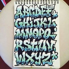 – Graffiti World Graffiti Lettering Alphabet, Tattoo Lettering Fonts, Doodle Lettering, Lettering Styles, Lettering Design, Script Fonts, Grafitti Alphabet, Graffiti Letters Styles, Calligraphy Doodles