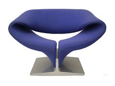 Ribbon chair designed by Pierre Paulin for Artifort, Holland, 1965