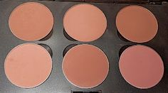 MAC blushes Harmony - Buff - Prism, Tenderling - Blushbaby - Pinch O' Peach