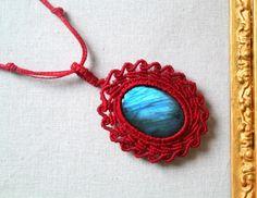 Macrame Necklace Gloria