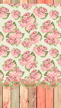 Shabby Chic Rose Digital Patterns By GraphicMarket On Creative Market