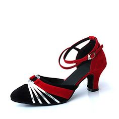 Women's Suede Upper Modern / Ballroom Dance Shoes (More Colors) – USD $ 15.49