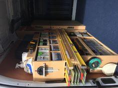 Trailer Shelving, Van Shelving, Trailer Storage, Truck Storage, Vehicle Storage, Work Trailer, Tiny House Trailer, Van Storage, Shop Storage