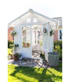Backyard Greenhouse Shed . Backyard Greenhouse Shed . 32 Affordable Garden Shed Plans Ideas for You Shed Conversion Ideas, Backyard Greenhouse, Greenhouse Ideas, Small Greenhouse, Portable Greenhouse, Backyard Sheds, Window Greenhouse, Homemade Greenhouse, Nice Backyard