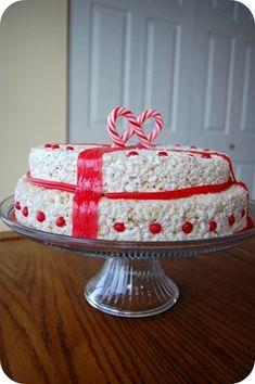 Rice Krispies Christmas Cake / 4tunate